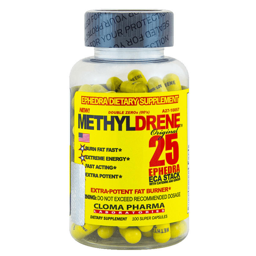 Cloma Pharma Methyldrene 25 /100 капс/