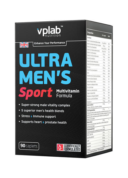 VP Laboratory Ultra Men's Sport Multivitamin Formula /90 капс./