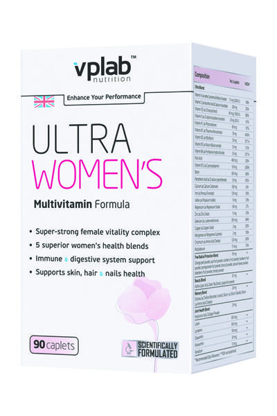 VP Laboratory Ultra Women's Sport Multivitamin Formula /90 капс./