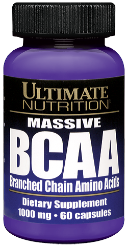Ultimate Nutrition BCAA 1000 /60 капс./