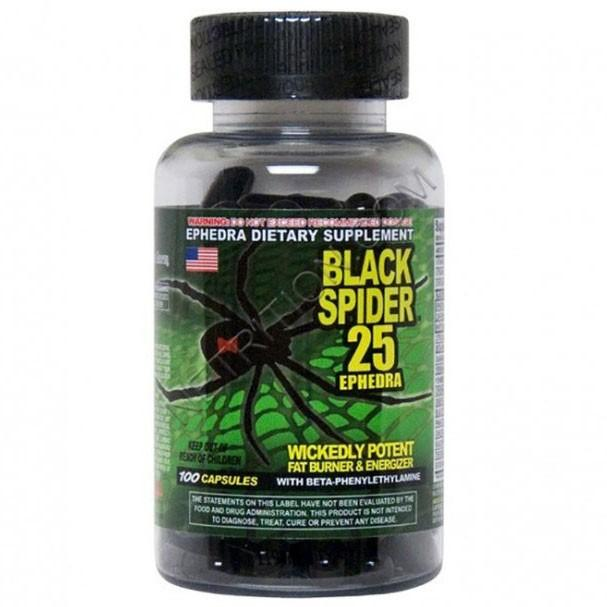 Cloma Pharma Black Spider/ 110 капс/