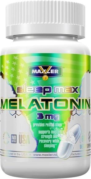 Maxler Melatonin Fast Sleep /60 caps./