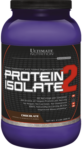 Ultimate Nutrition Protein Isolate 2 /908 g./