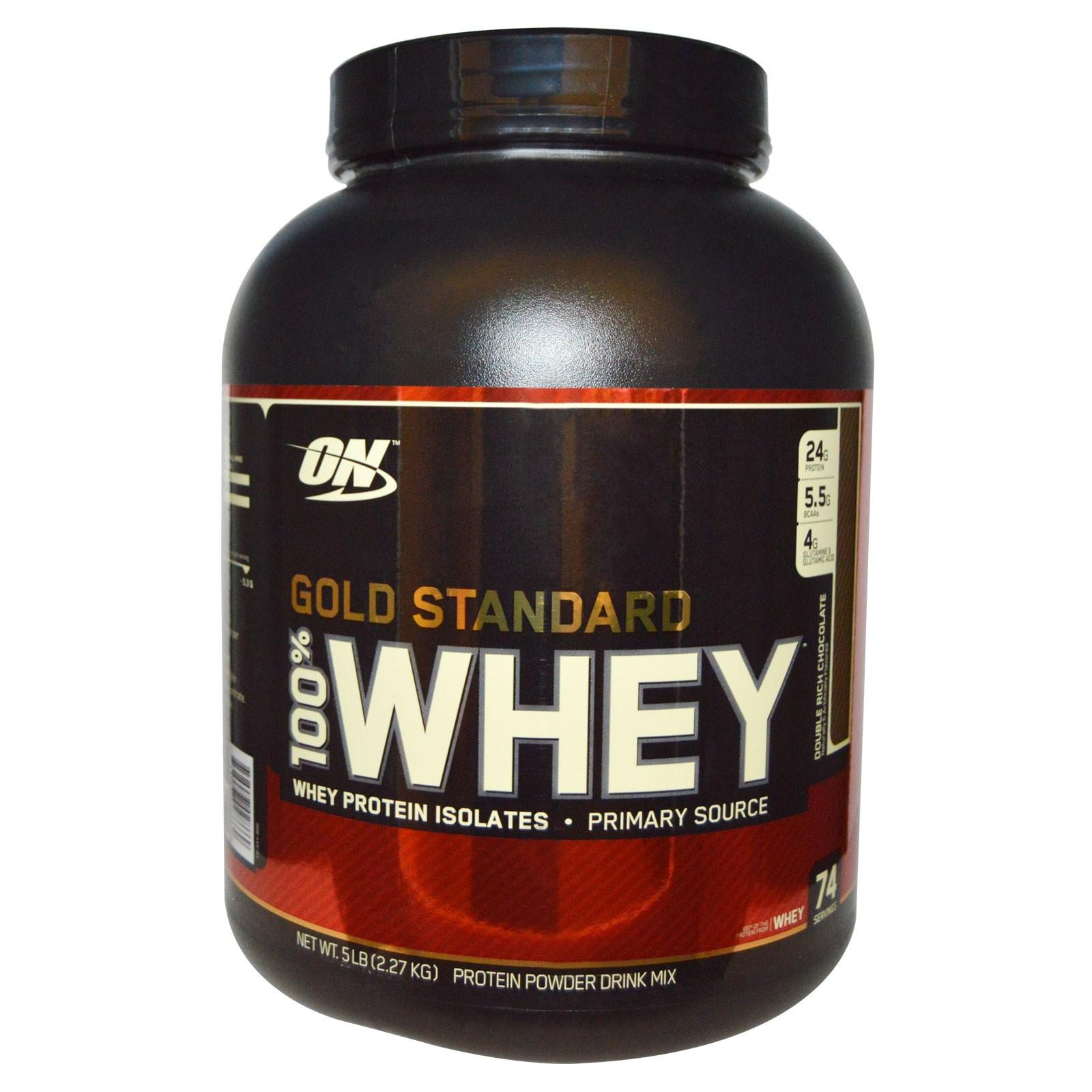 Optimum Nutrition 100% Whey Gold Standard /2270г./