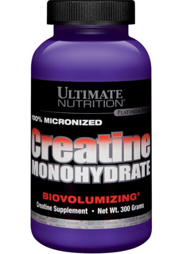 Ultimate Nutrition, Creatine Monohydrate 100% Micronized /300 r./