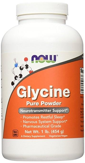 Now Glycine Pure Powder /454 гр./